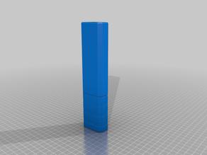 Octagonal faux suppressor for Nerf barrels
