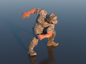 Male Action Pose