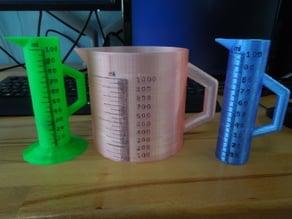 Customizable Measuring Cylinder v2