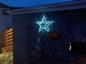 LED Outdoor Christmas Star Decoration