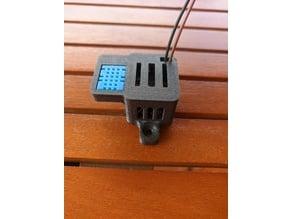 ESP8266 Temperature & Humidity over WiFi (Blynk App)