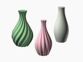 Twisty or Smooth Vase