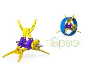 Spool transformer
