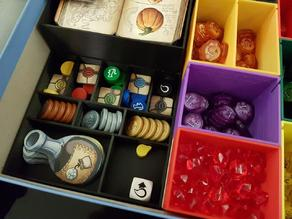 Quacks of Quedlinburg Insert Remix- Potions and tokens holders