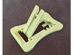 Folding mobile stand