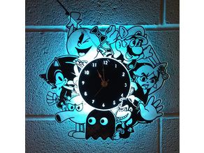 Gameroom clock