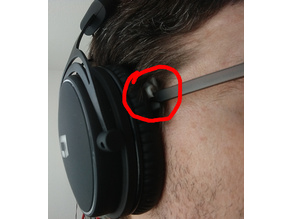 Headset glasses adapter for painless wear