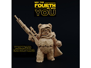 Wunn-To, Ewok Bounty Hunter