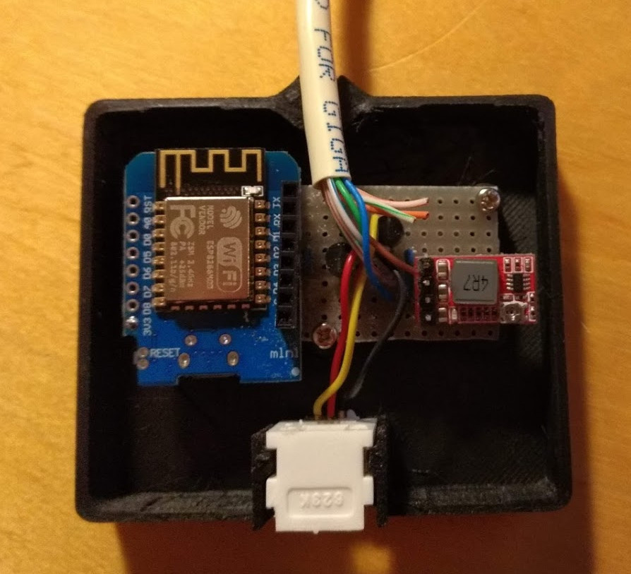 Enclosure for Skywatcher WiFi bridge (openscad)