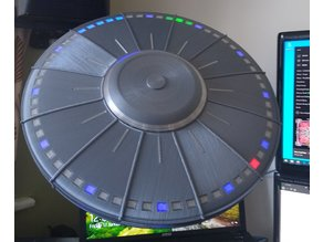 UFO/Flying saucer clock (and NAS!)
