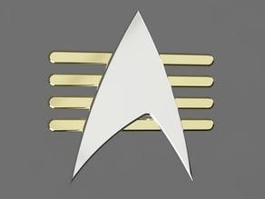 Star Trek: The Next Generation / Future Imperfect Combadge