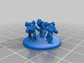 Battletech Inner Sphere Battle armor/armour remix