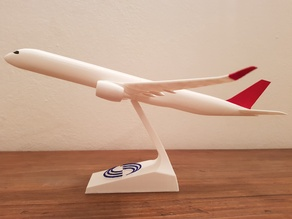 AIRBUS A350-1000 DETAILED SNAP-ON MODEL