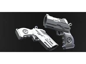 Mini Bic lighter holder - Seburo pistol