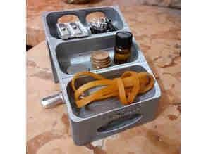 Multi Level container for desk/ikea rabbla