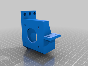 Modular X-carriage - Titan Aero Extruder Mount 3DTouch/BLTouch