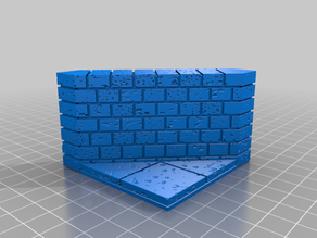 OpenForge 2.0 Cut Stone Diagonal External Wall 2x2