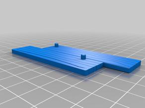 6 Inch Peg Stand - Hardwood Floor