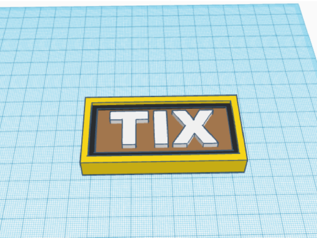 Tix Roblox Currency By Talituli Thingiverse