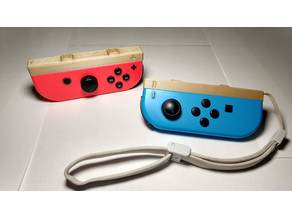 Joy Con Strap Slider with Buttons