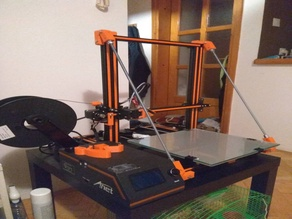 Anet E16, E12 reinforcements for Z-axis with rods