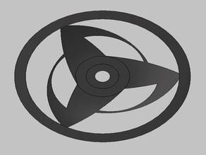 Sharingan wheel rim