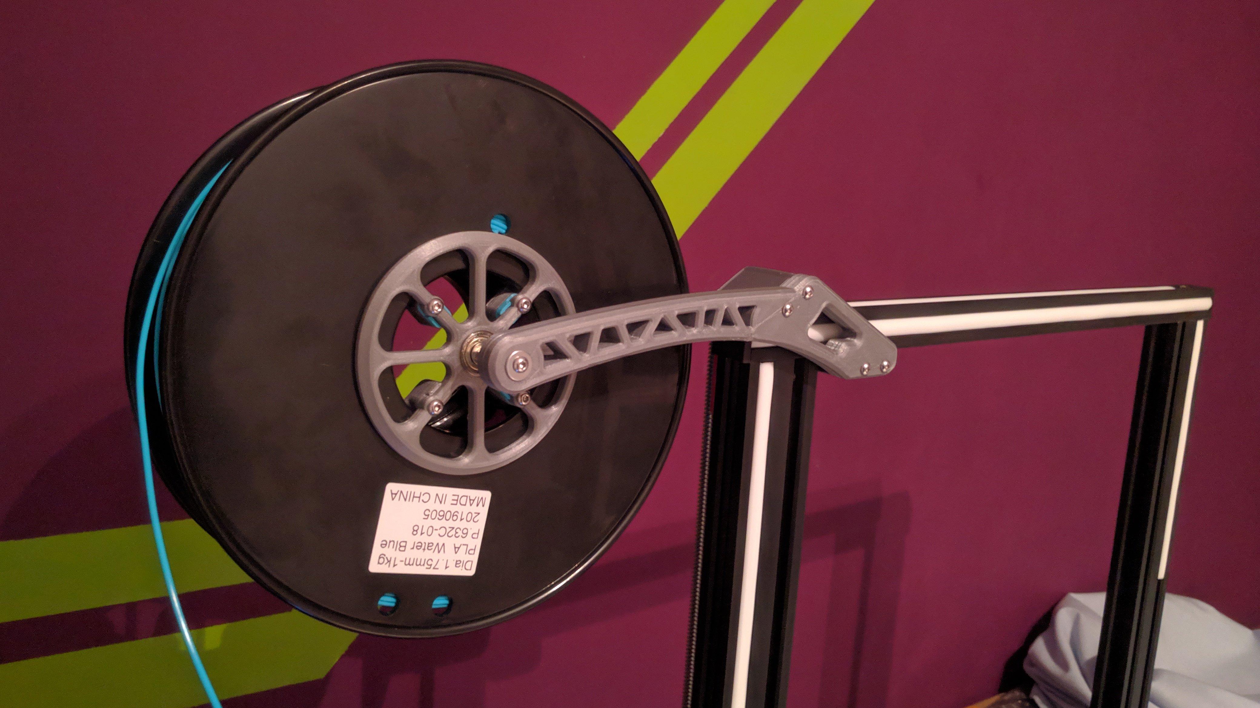 Hyper Alfawise u20 spool Holder (bearing) Prototype v1