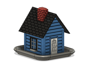 Bird feeder (house)
