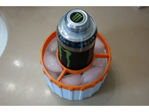 Monster / Red Bull / Energy Drink Can Ice Bath Chiller