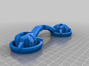 FrSky Taranis x9d Rotor Riot gimbal protector (easier slicing)