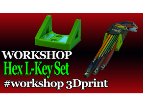 Workshop magnetic handle fo hex L-key Set