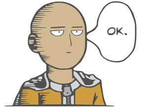 One Punch Man - Saitama OK
