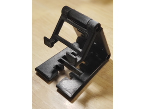 Universal Phone Stand - Adjustable - Split Tray