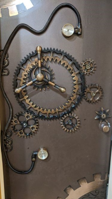 Steampunk Vault Gears