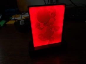 Lithophane LED Lamp