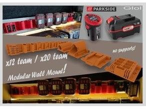 Modular Parkside x20 x12 wall mount