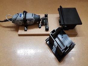 Table saw for Dremel and other mini tools (remix)