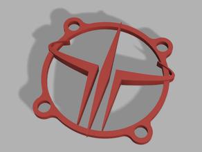 Quake 3 Arena Fan Cover 40x40