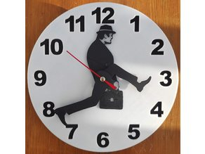 Ministry of Silly Walks Clock (remix)