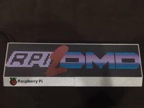 Retro Arcade Clock - Rpi2DMD - P2.5 Cover for Frame Kit