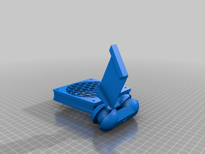 Anycubic Mega S - Fan holder for bed cooling