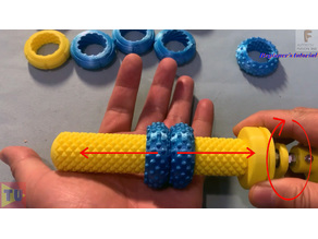 These multi-thread screws are satisfying, they can play music