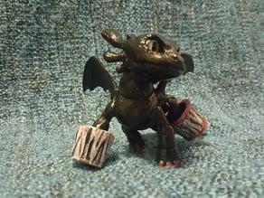 Dragon (BJD) Toothless