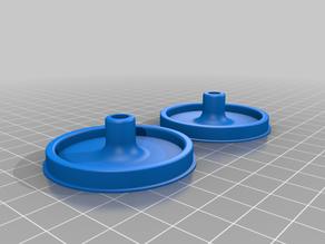 more printparts for the Bruder style roller