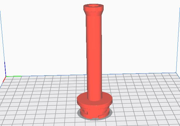 20 mm Filament spool holder for Ender 3 original setup