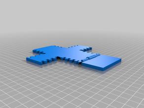foldable, hinged box - customizable