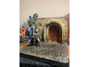 Mandalorian Miniature Base.