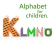 alt Alphabet for children. K L M N O