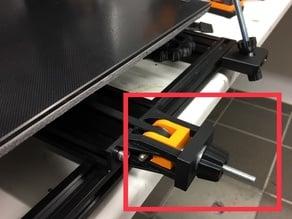 JGAurora A5X x & y axis belt tensioner system