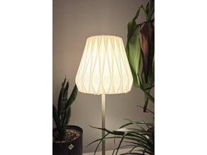 Lamella bedside lamp